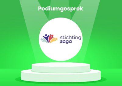 Podiumgesprek: Stichting Saga